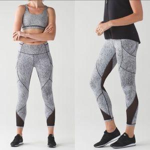 •MAKE OFFER Lululemon outrun mesh leggings